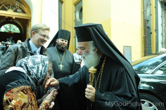 Patriarch Theodore II of Alexandria Blessing