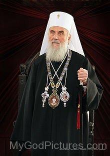 Picture Of Patriach Irinej