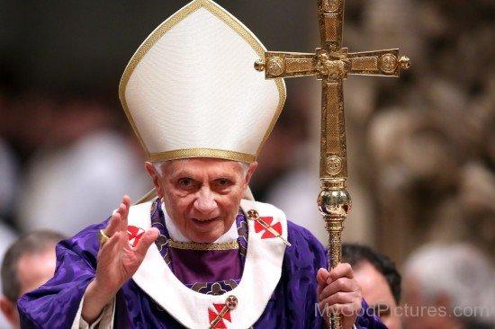 Saint Pope Benedict XVI Blessing