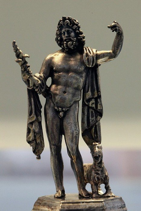 Silver Statue Of The Roman God Jupiter