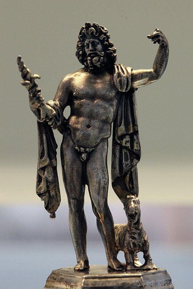silver statue of the roman god jupiter god pictures