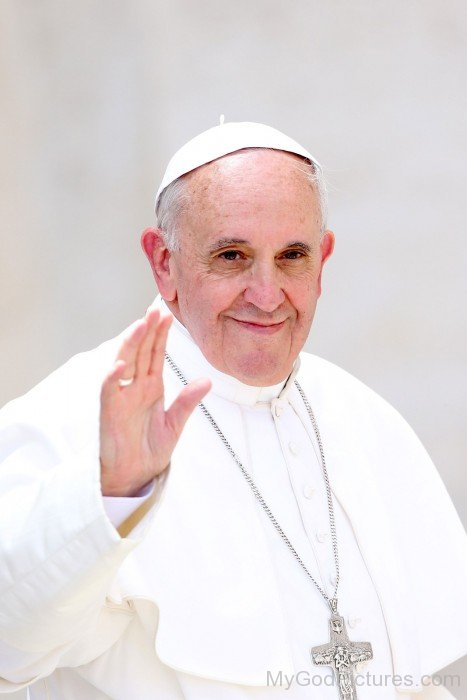 Smiling Face Of Pope Francis