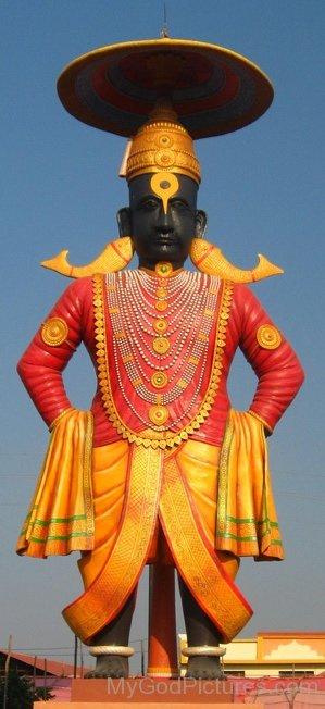 Statue Of Bhagwan Vithoba