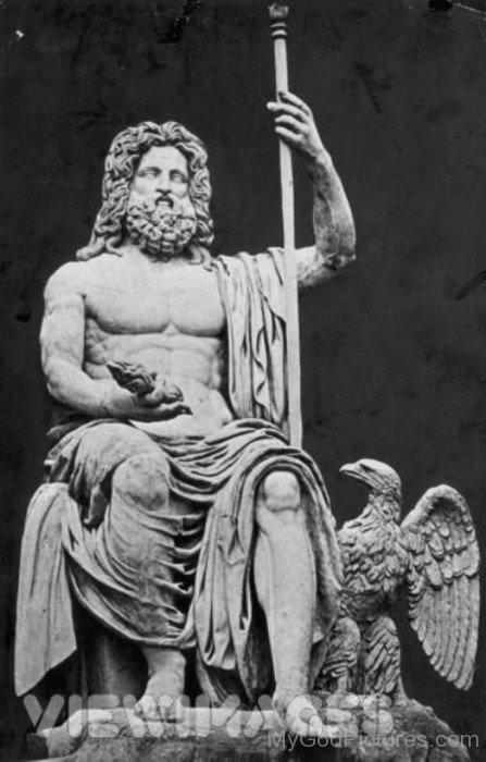 Statue Of God Jupiter