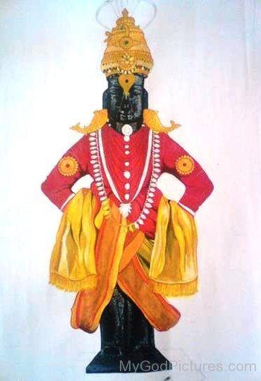Statue Of God Vithoba