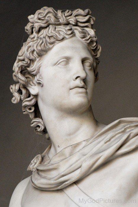 Statue Of Lord Apollo