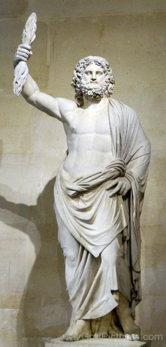 Statue Of Lord Jupiter