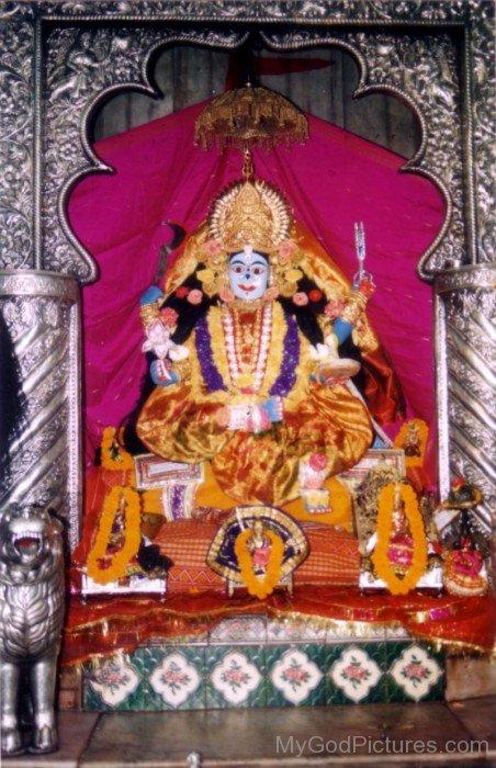 Statue Of Ugratara Devi