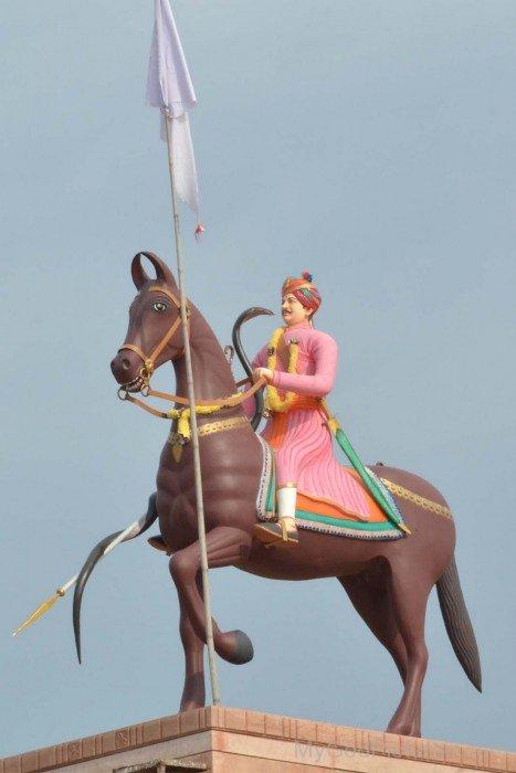 Statue Of Veer Tejaji Maharaj