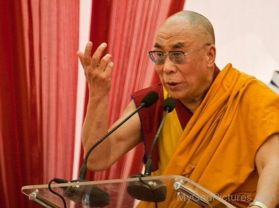 Tenzin Gyatso Addressing