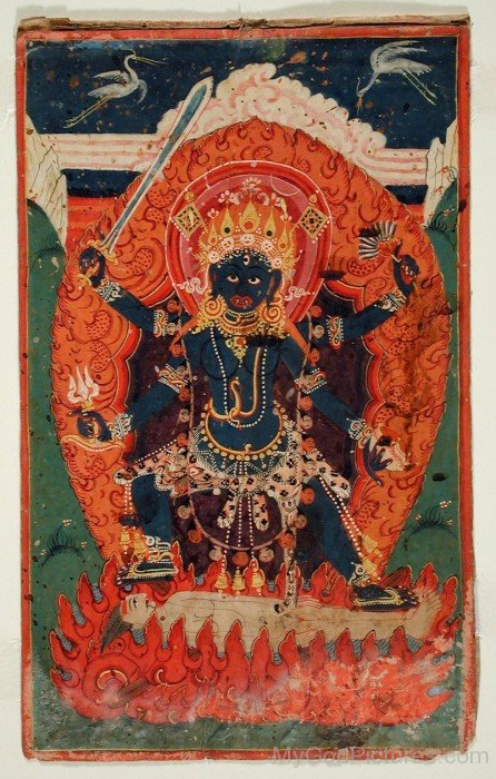 The Hindu Goddess Ugratara