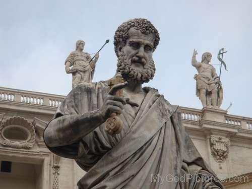 The Statue Of God Jupiter