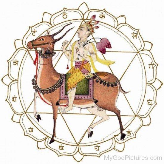 Vayu Devata The Hindu Wind God