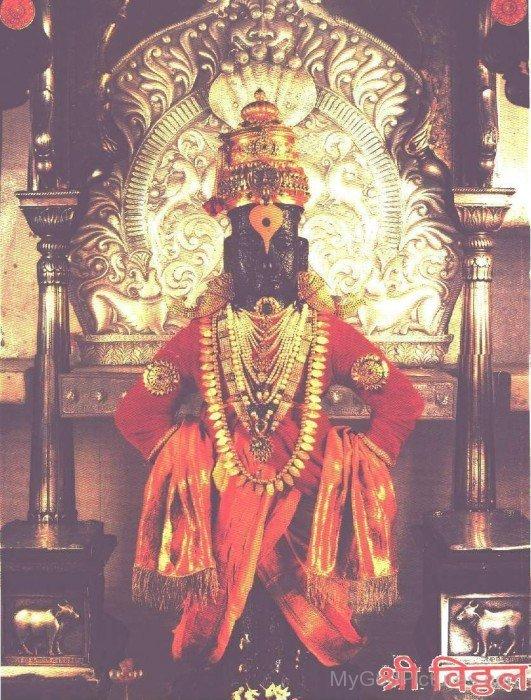 Vithoba At Pandharpur