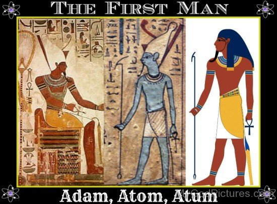 Adam,Atom And Atum-kj501