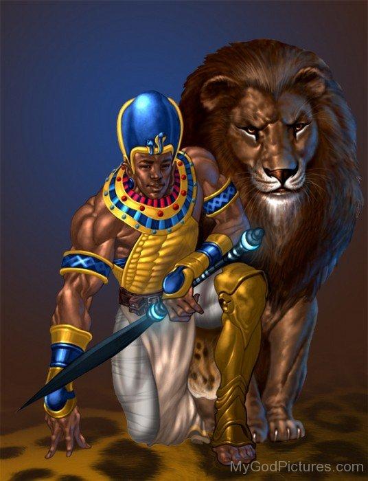Apedemak Lion God-hj31