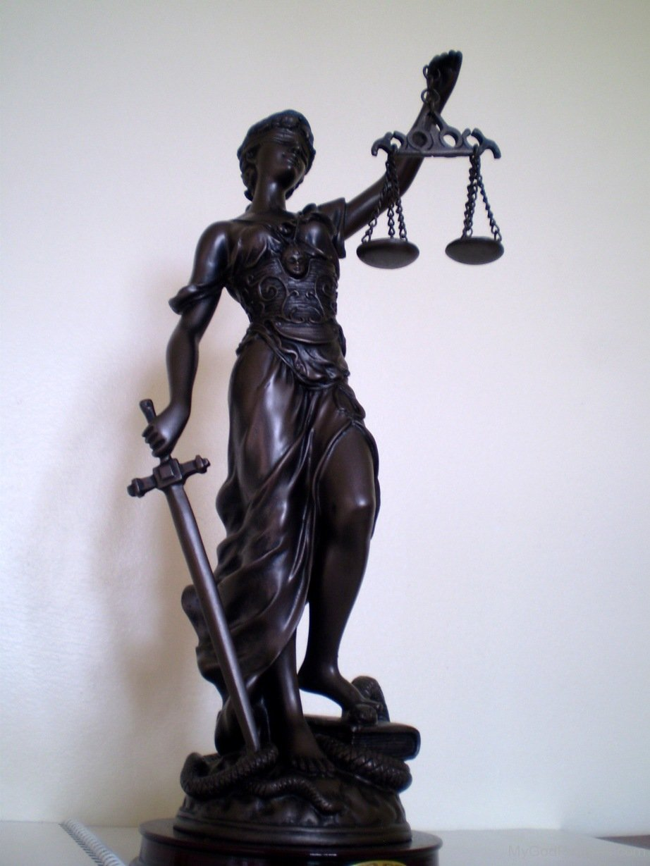 Lady Justice - God Pictures
