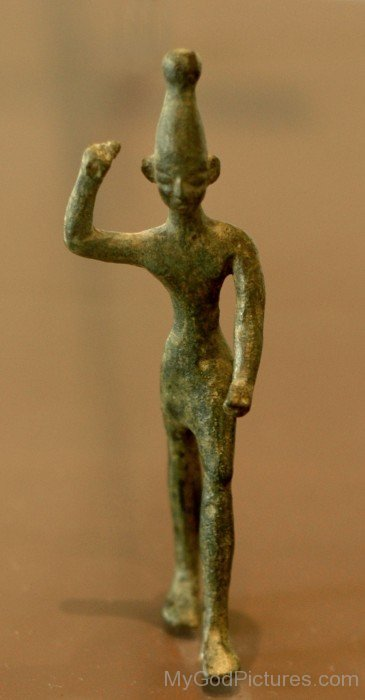 Bronze Figurine Of A Baal-ghy205