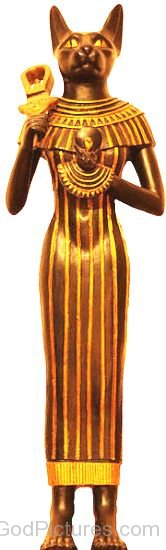 Bronze Statue Of Bastet-nb406