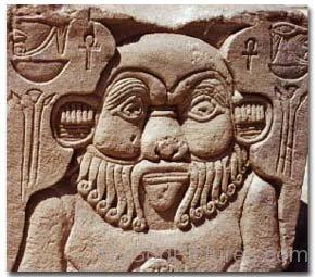 Face Sculpture Of Bes-xz14