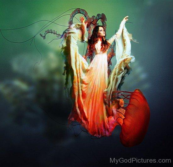 Female Divinity Of The Sea Salacia