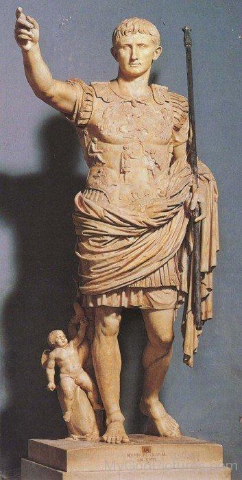 Full Statue Of Augustus