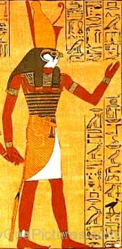 God Horus Portrait-cb508