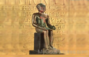 God Imhotep Statue-jh203