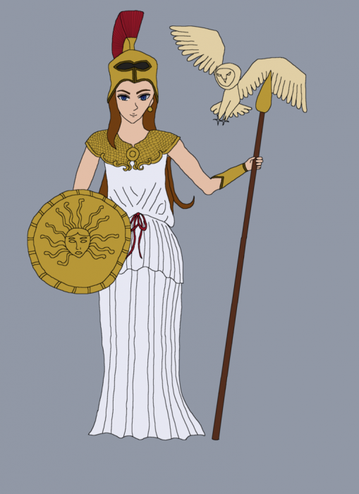 Goddess Athena Photo