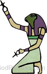 Goddess Heqet Image-ty202
