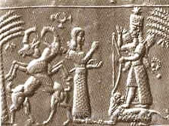 Goddess Ishtar Sculptureyu506