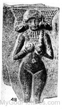 Goddess Ishtar Statueyu507