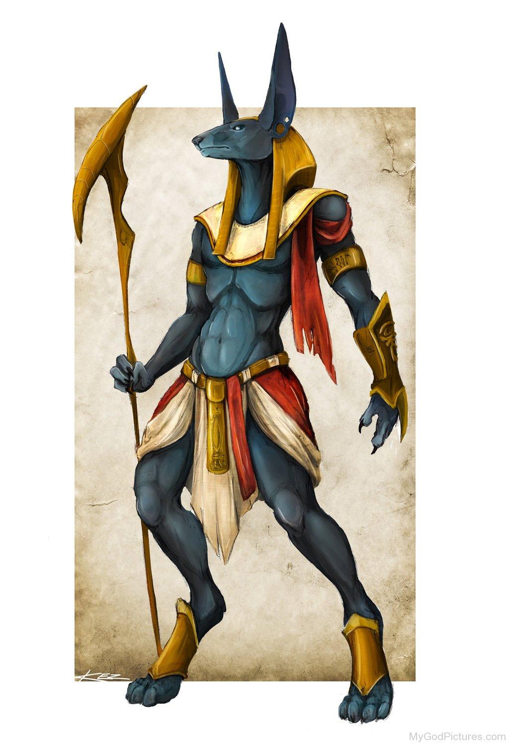 God Anubis - God Pictures