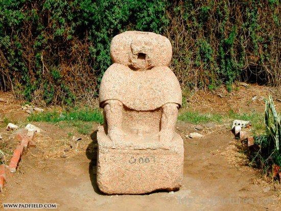Image Of Babi Statue-lm208