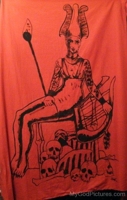 Image Of Goddess Anat-bcv305