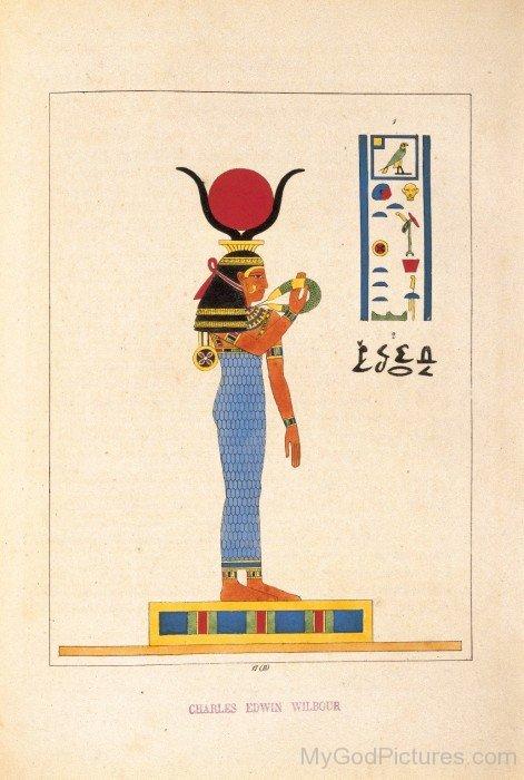 Image Of Goddess Hathor-jk224