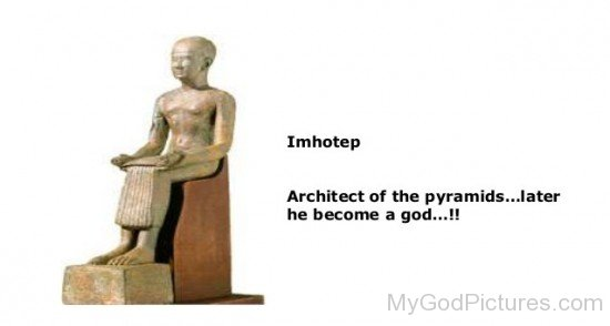 Imhotep Architect Of The Pyramids-jh206