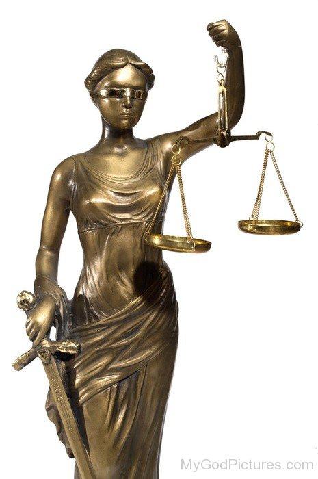 Lady Justice Roman Goddess