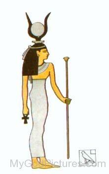 Photo Of Goddess Hathor-jk225