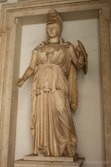 Photo Of Goddess Minerva