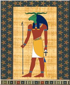 Picture Of God Khnum-fg809