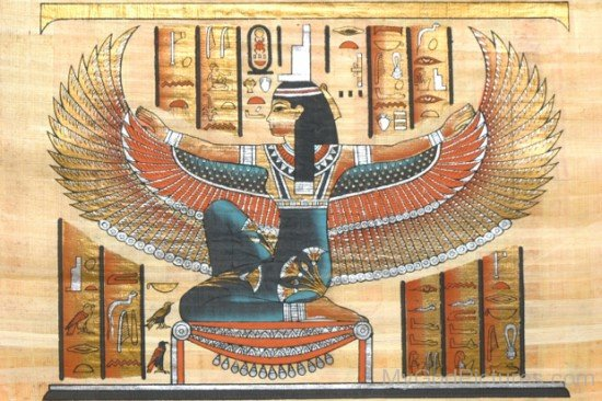 Picture Of Goddess Isis-jk822