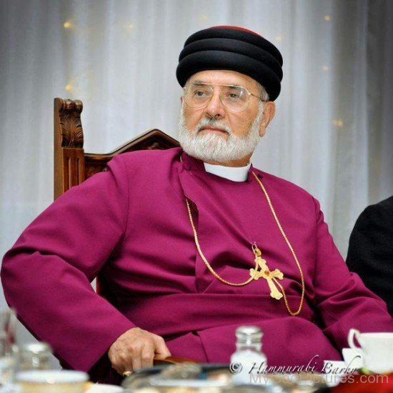 Picture Of Patriarch Mar Dinkha IV
