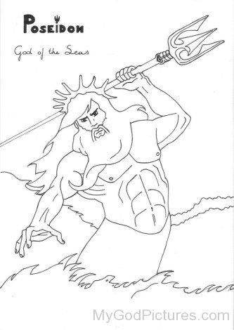 Poseidon Drawing