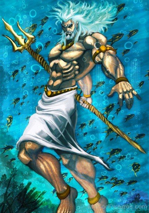 Poseidon -The Sea God