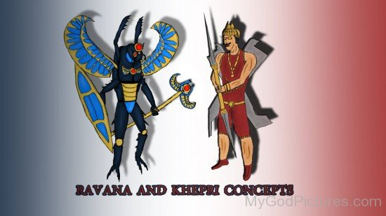 Ravana And Khepri Concepts-lk923