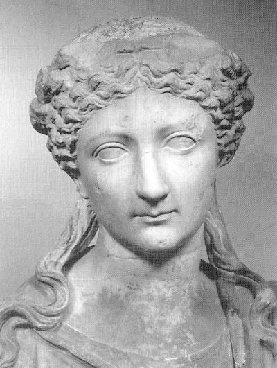Roman Goddess Livia Statue