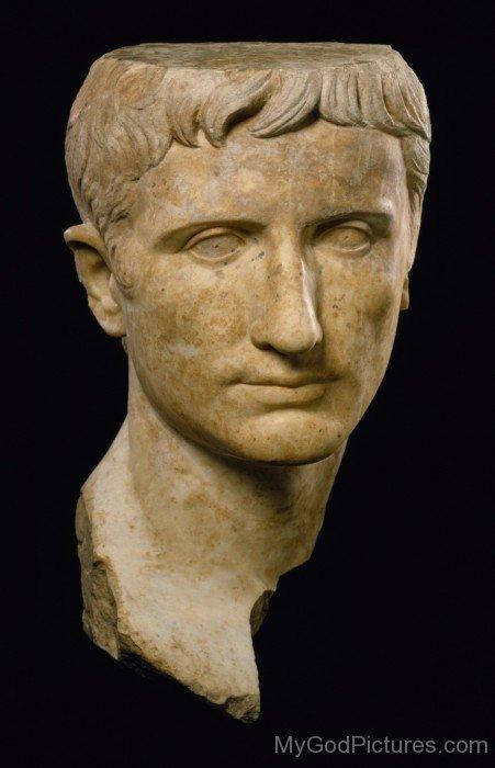 Roman Portrait Of Emperor Augustus