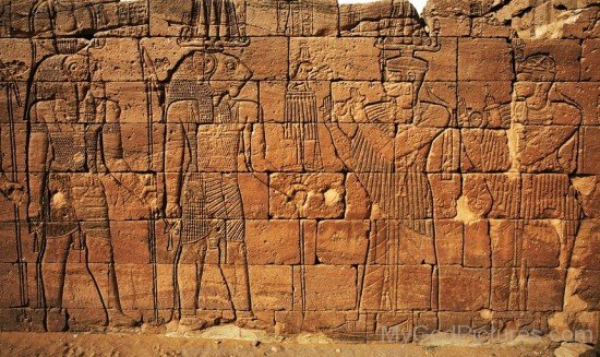 Sculpture Of Apedemak And Egyptian God-hj36