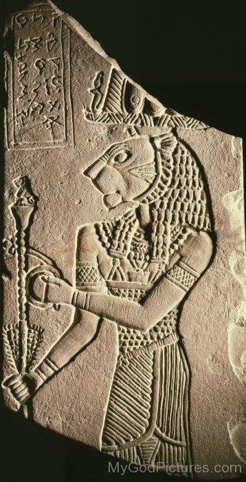 Sculpture Of God Apedemak-hj37
